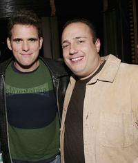 Matt Dillon and Carmine Famiglietti at the after party of the Fifth Annual Tribeca Film Festival Tropfest.