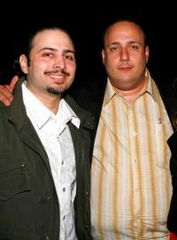 Matthew Bonifacio and Carmine Famiglietti at the Tropfest cocktail reception during the 2007 Tribeca Film Festival.