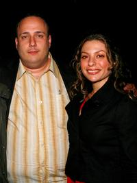 Carmine Famiglietti and Sophia Antonini at the Tropfest cocktail reception during the 2007 Tribeca Film Festival.