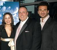 Jennifer Pena, Carmine Famiglietti and Michael Aronov at the premiere of