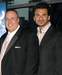 Carmine Famiglietti and Michael Aronov at the premiere of