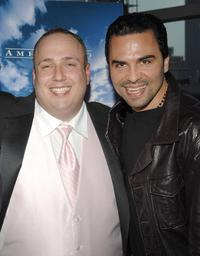 Carmine Famiglietti and Manny Perez at the premiere of