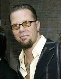 James Hetfield at the premiere of