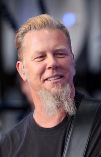 James Hetfield at the Live Earth concert.