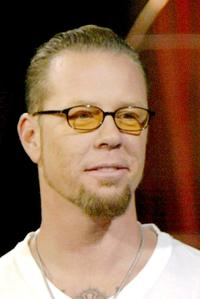 James Hetfield at the FUSE TV's