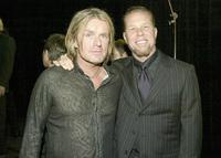 Billy Duff and James Hetfield at the 21st Annual ASCAP Pop Music Awards.