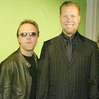 Lars Ulrich and James Hetfield at the 21st Annual ASCAP Pop Music Awards.