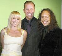 James Hetfield, Jewel and Kirk Hammett at the 21st Annual ASCAP Pop Music Awards.