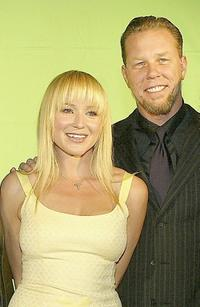 James Hetfield and Jewel at the 21st Annual ASCAP Pop Music Awards.