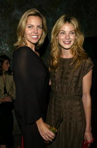 Blanchard Ryan and Michelle Monaghan at the after party of the premiere of