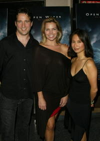 Chris Kentis, Blanchard Ryan and Producer Laura Lau at the premiere of