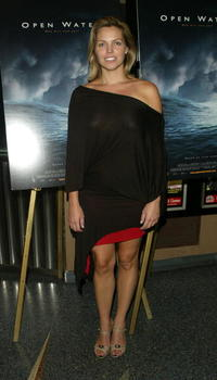 Blanchard Ryan at the premiere of