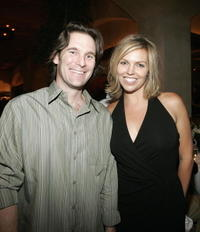 Daniel Merrick and Blanchard Ryan at the after party of the premiere of