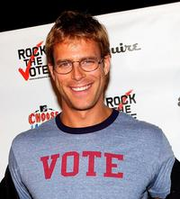 Daniel Travis at the Young Hollywood Votes.