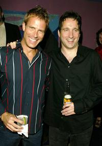 Daniel Travis and Chris Kentis at the after party of the premiere of