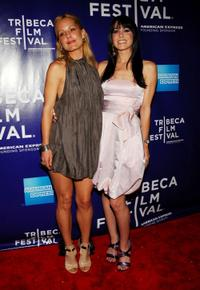 Emma Caulfield and Michelle Borth at the premiere of