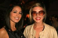 Michelle Borth and Guest at the Mercedes Benz Fashion Week.