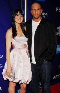 Michelle Borth and Desmond Harrington at the premiere of