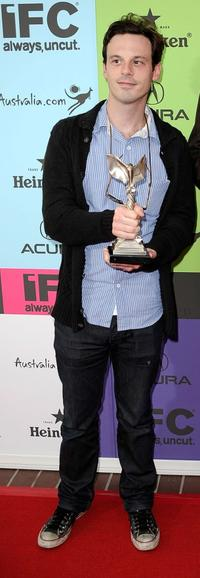 Scoot McNairy at the 24th Annual Film Independent's Spirit Awards celebration.