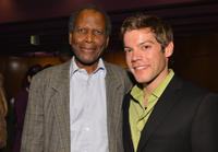 Sidney Poitier and Russell Sams at the 2012 AFI Women Directors Showcase in California.
