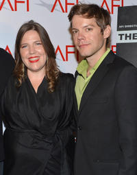 Director Jane Pickett and Russell Sams at the 2012 AFI Women Directors Showcase in California.