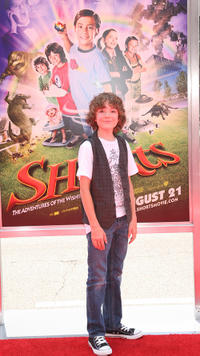 Trevor Gagnon at the California premiere of