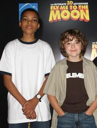 Phillip Daniel Bolden and Trevor Gagnon at the Los Angeles premiere of