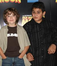 Trevor Gagnon and David Gore at the Los Angeles premiere of