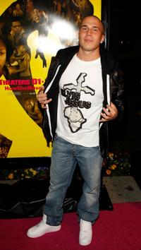 Shawn Desman at the premiere of
