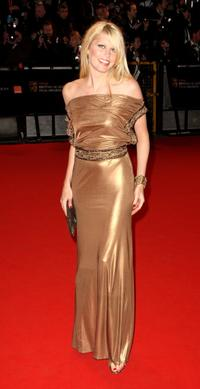Meredith Ostrom at the Orange British Academy Film Awards (BAFTAs).