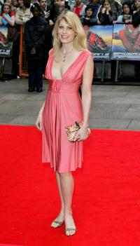Meredith Ostrom at the UK premiere of