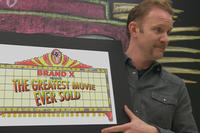 Morgan Spurlock in ``The Greatest Movie Ever Sold.''