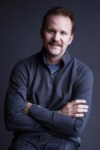 Director/screenwriter Morgan Spurlock on the set of