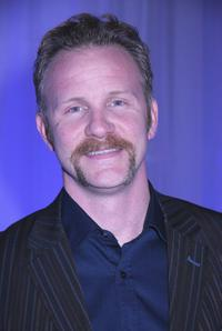 Morgan Spurlock at the exhibition 'Simplicity - A Look Into The Future'.
