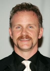 Morgan Spurlock at the 33rd International Emmy Awards Gala.