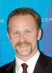 Morgan Spurlock at the Art of Compassion Gala.