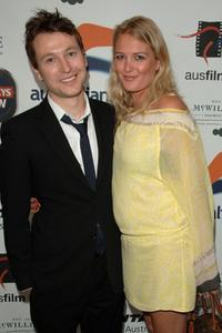 Leigh Whannell and Anita Patrickson at the Australians In Film 2006 Breakthrough Awards.