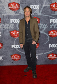 Keith Urban at the 2012 American Country Awards in Las Vegas.