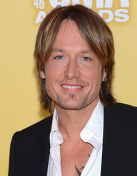 Keith Urban at the 46th Annual CMA Awards in Tennessee.