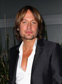 Keith Urban at the Launch party of Live Show