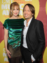 Nicole Kidman and Keith Urban at the 2011 CMT Music Awards in Tennessee.