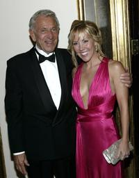Jack Klugman and Heather Randall at the National Actors Theater Benefit