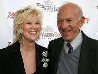 Jack Klugman and his wife Peggy Klugman at the Actors Fund of America's 10th annual Tony awards dinner.