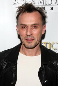 Robert Knepper at the Fortitude Agency party.