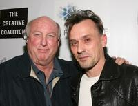 Phil Brock and Robert Knepper at the Fortitude Agency party during the 2008 Sundance Film Festival.