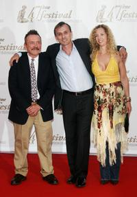 Robert Knepper and Guests at the opening night of the 2007 Monte Carlo Television Festival.