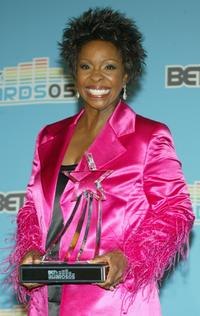 Gladys Knight at the BET Awards 05.