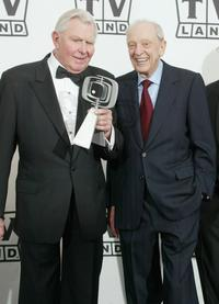 Don Knotts and Andy Griffith at the 2nd Annual TV Land Awards.