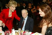 Don Knotts, Barbara Eden and Amy Yasbeck at the TV Land Awards 2003.