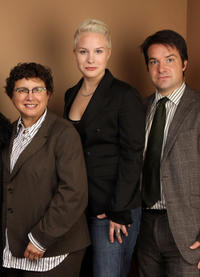 B. Ruby Rich, Alexandra Chowaniec and George Rush at the portrait session of